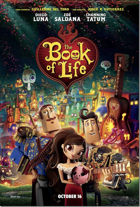 THE BOOK OF LIFE poster_