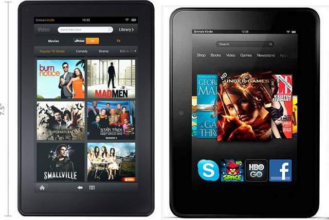 Kindle fire 2012 vs Kindle fire HD 2013