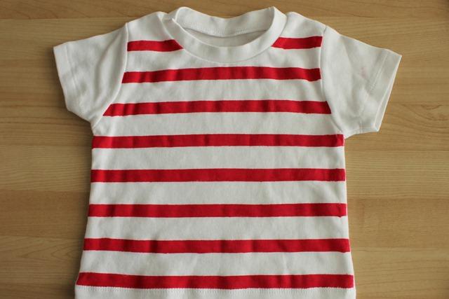 Stripe shirt finished
