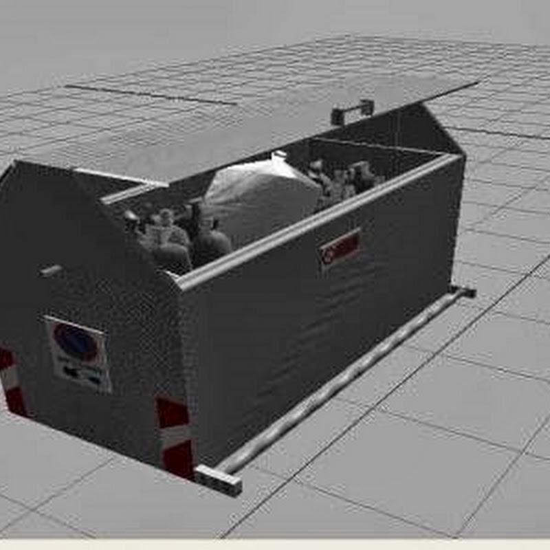 Farming simulator 2013 - Cassonetto con funzione v1.0