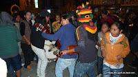 Fiesta im Ort