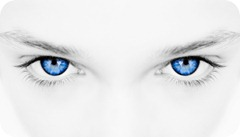 Hypnotic Blue Eyes Young Woman iStock_000001985550XSmall