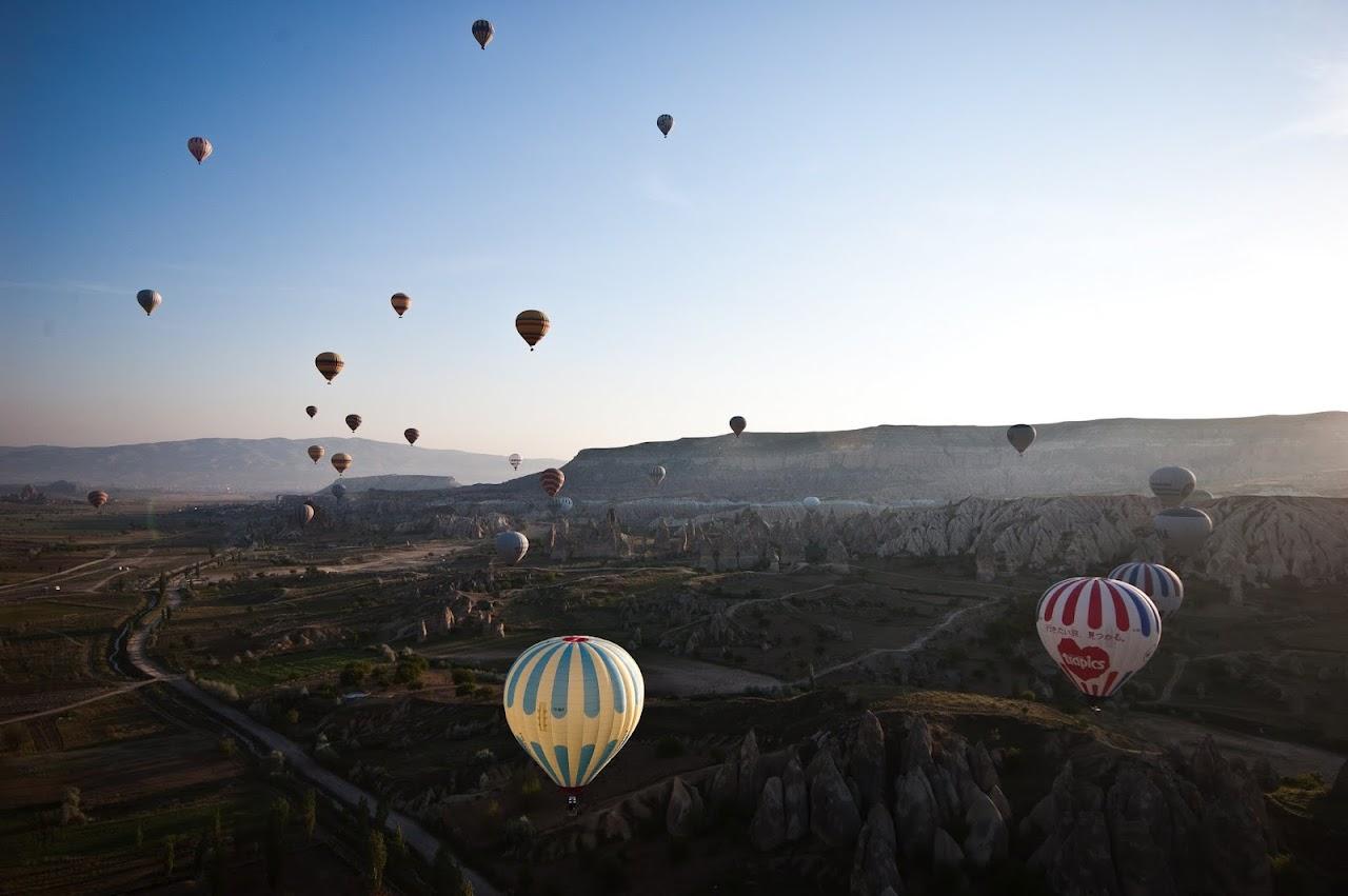 Hot air ballooning Cappadocia
