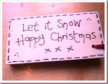 Let It Snow tag 1