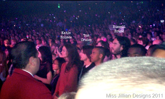 Katie Holmes, Tom Cruise, & Russell Brand