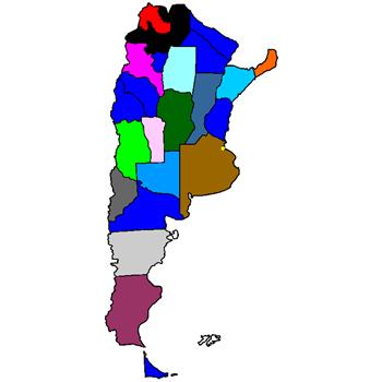 Mapa Dip 2013