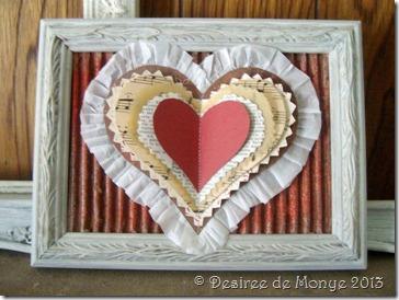 Valentine's layered heart