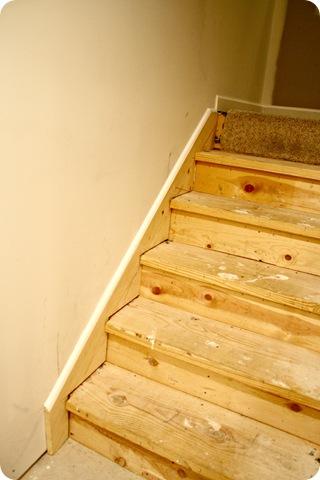 trim on stairway