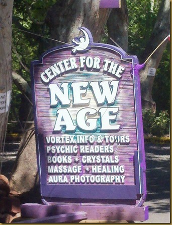 center for the new age sign