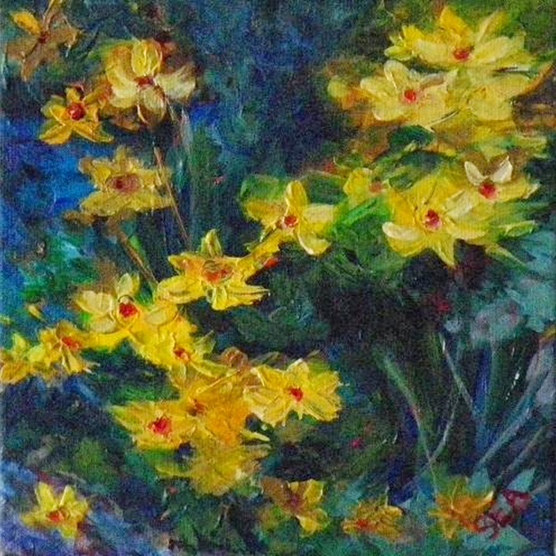 12 Beautiful Paintings of Flowers – Roses, Daisies, Lilies and More