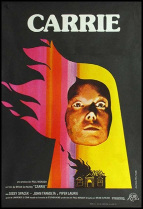 Carrie spanish poster