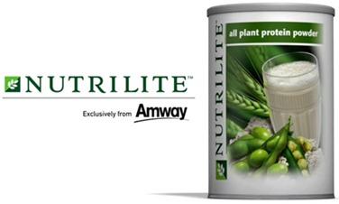 นิวทริไลท์™ โปรตีนชนิดผง  Nutrilite All Plant Protein Powder (450g)