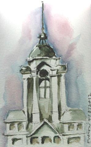 Flinders Street Station Sketch