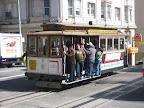 The famous San Francisco cable car!