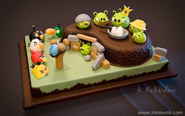 Model Kue  ulang tahun unik