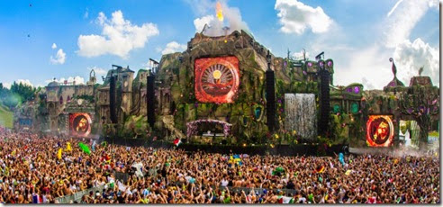 Escenario Tomorrowland