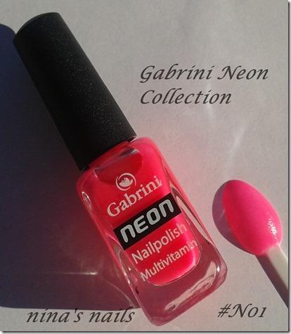gabrini neon N01