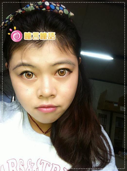 韓國GEO隱形眼鏡-GEO Holicat 荷麗貓仙女咖(Barbie Cat)20