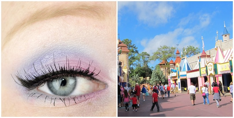 walt disney world fantasyland makeup look 2