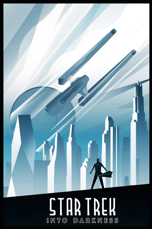 Blurppy Artist Project - Star Trek Movie Posters - Rodolfo Reyes