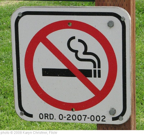 'don't smoke sign' photo (c) 2008, Karyn Christner - license: http://creativecommons.org/licenses/by/2.0/
