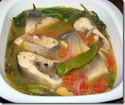 Salmon-Miso Sinigang (Filipino Sour Soup) Recipe — Dishmaps