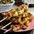 Szaszłyki z kurczaka marynowanego w kurkumie