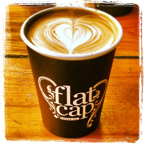 #132 - Flat Cap latte art