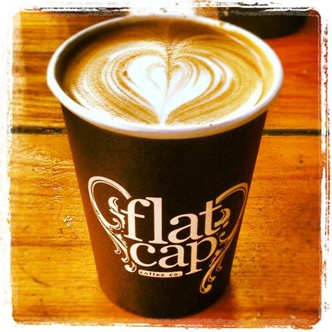 #132 - Flat Cap latte art