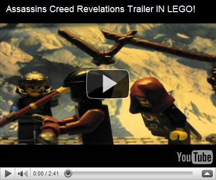 Лего Ассасин Крид 4