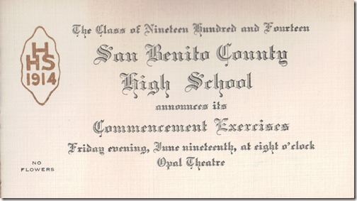 San Benito High Commencement