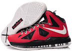 lbj10 fake colorway red black white 1 01 Fake LeBron X