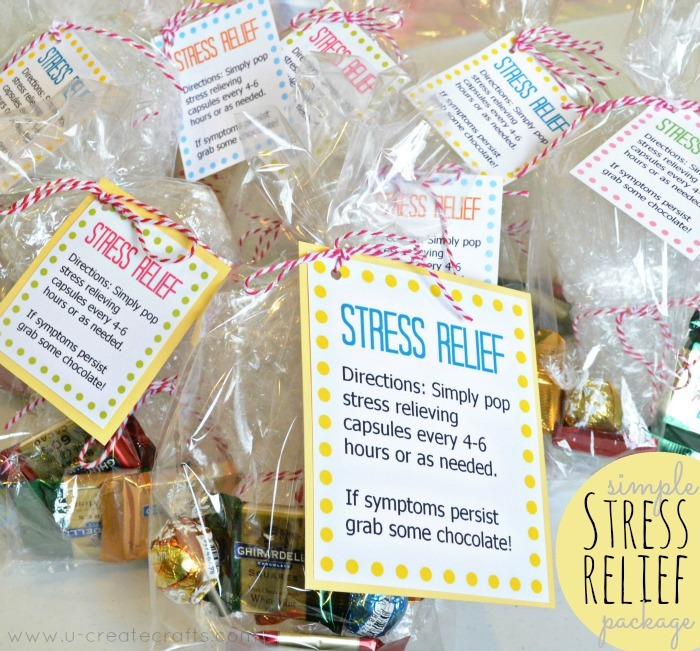 DIY Simple Stress Relief Package and Free Download!