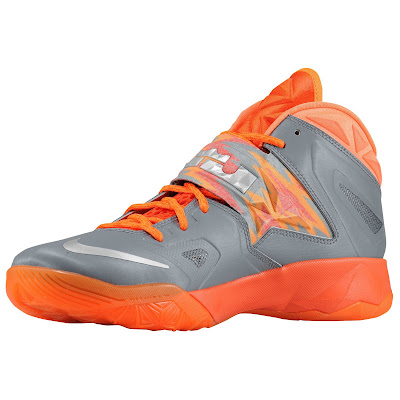 nike zoom soldier 7 gr black orange 1 01 eastbay LEBRONs Nike Zoom Soldier VII $135 Pack Available at Eastbay