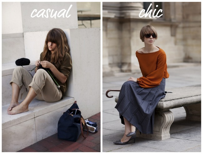 take a load off casual chic