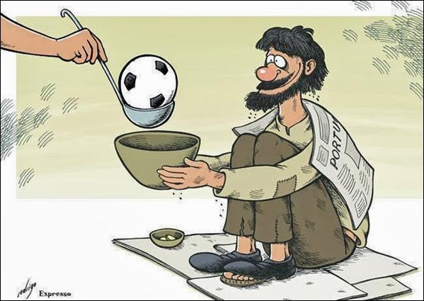 importância dada ao futebol em Portugal