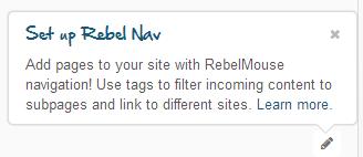 setup rebel navigation
