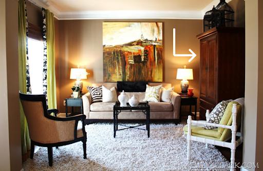 Merveilleux Living Room Armoire