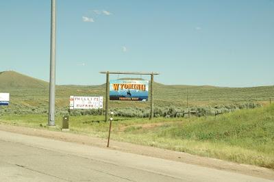 Wyomingの看板
