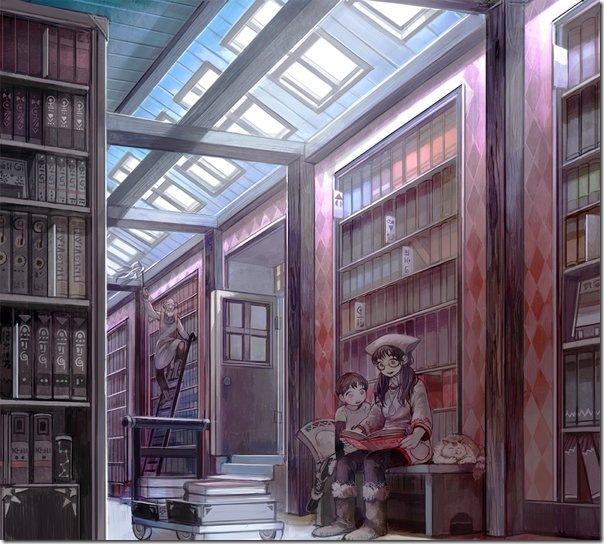 A_library_by_simetta