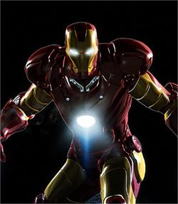 colección de arte inspirado en Iron Man