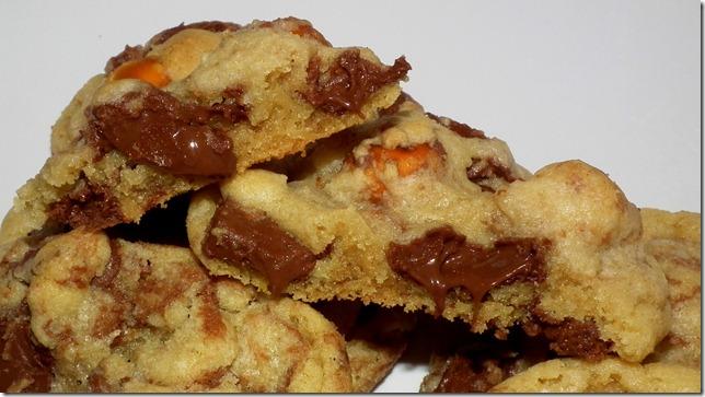 Nutella Chunk Cookies