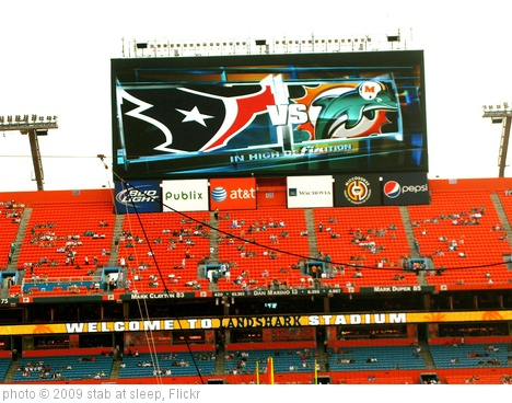 'houston texans vs. miami dolphins' photo (c) 2009, stab at sleep - license: http://creativecommons.org/licenses/by-sa/2.0/