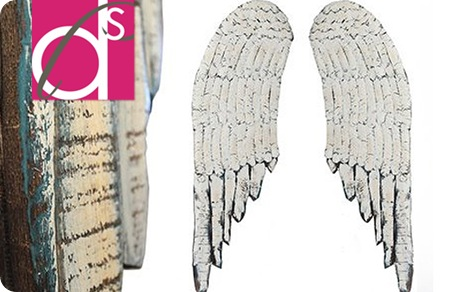wood angel wings
