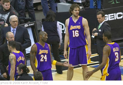 'Los Angeles Lakers' photo (c) 2008, Keith Allison - license: http://creativecommons.org/licenses/by-sa/2.0/