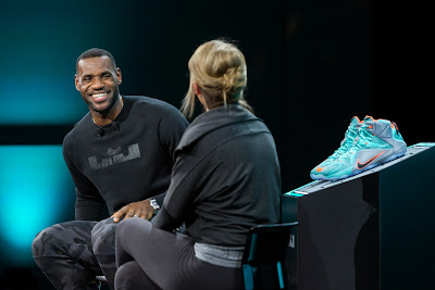 nike lebron 12 xx unveiling 3 07 Check Out Video Recaps from Nikes LeBron 12 Unveiling at WHQ
