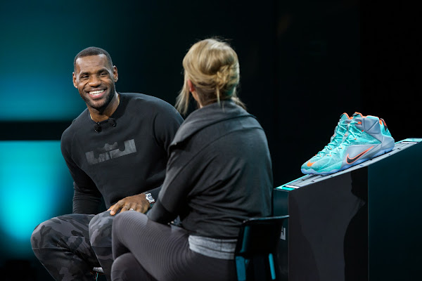 Check Out Video Recaps from Nike8217s LeBron 12 Unveiling at WHQ