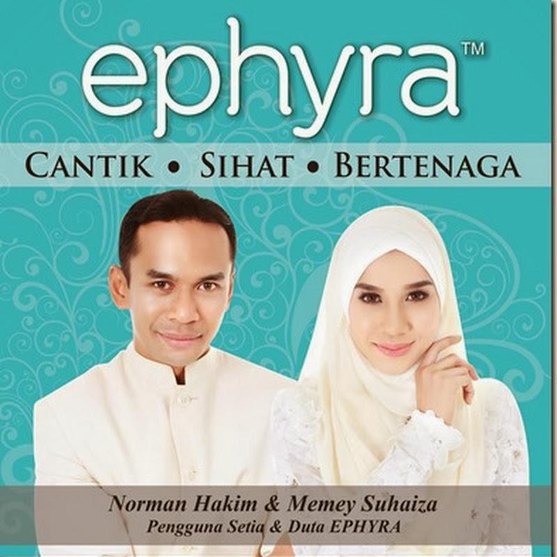 Memey Suhaiza & Norman Hakim sebagai Duta Ephyra