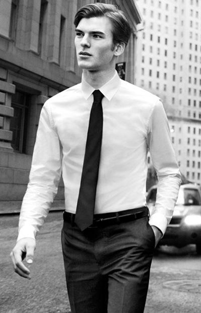 Patrick Kafka by Inez & Vinoodh for DKNY F/W 2011-12 campaign (detail)