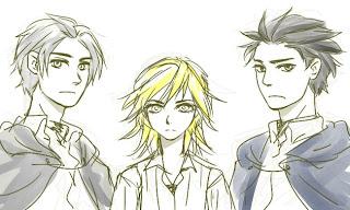 – 三人組